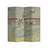 Fine Asianliving Room Divider Privacy Screen 4 Panels W160xH180cm Van Gogh Blossoming Almond Branch in a Glass 1889