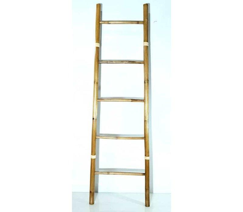 Bamboe Ladder Naturel 45x180cm Handgemaakt in Thailand