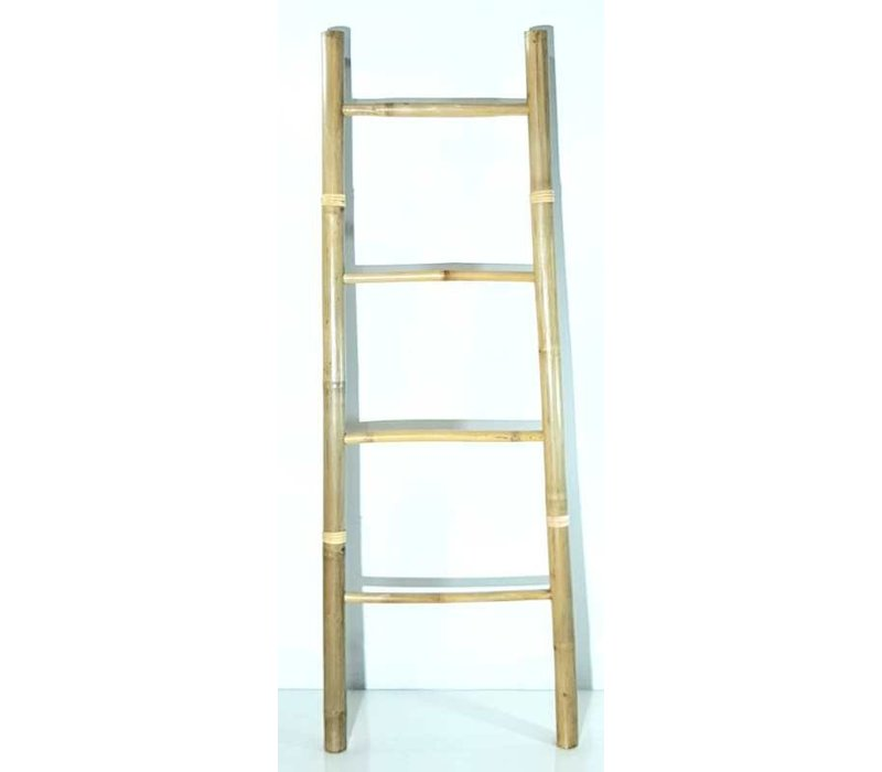 Bamboo Ladder Natural 45x180cm Handmade in Thailand