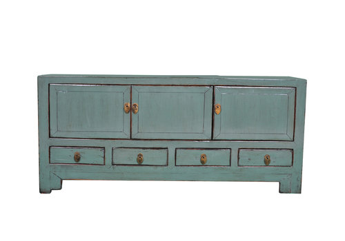 Fine Asianliving Antique Chinese TV Cabinet Mint W138xD40xH62cm