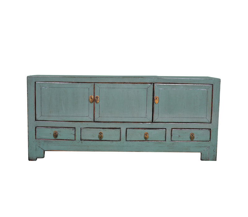 Antique Chinese TV Cabinet Mint W138xD40xH62cm