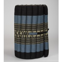 Thai Mat Rollable Matress 190x50x4.5cm Black Elephant