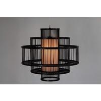 Lámpara de Techo Colgante de Bambú Hecha a Mano - Louis
