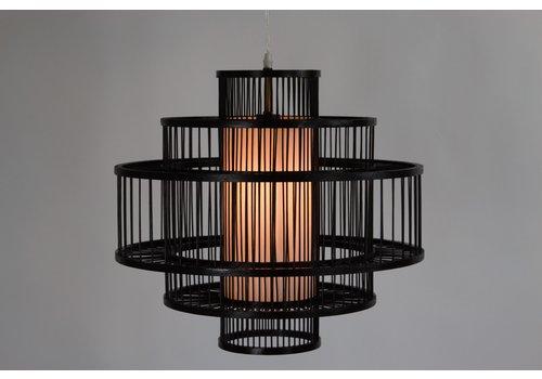 Fine Asianliving Ceiling Light Pendant Lighting Bamboo Lampshade Handmade - Louis