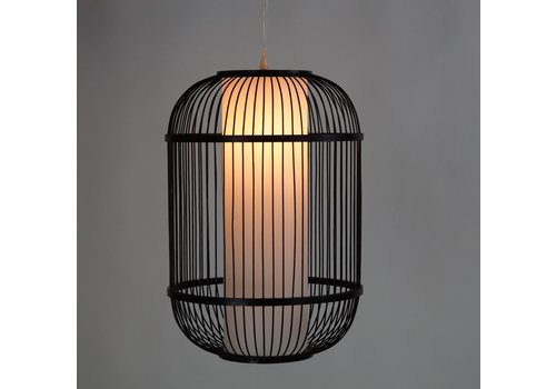 Fine Asianliving Deckenleuchte Pendelleuchte Beleuchtung Bambus Lampenschirm Handgefertigt - Dylan