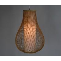 Bamboe hanglamp Amber