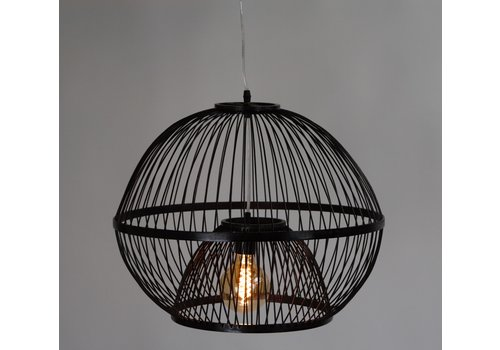 Fine Asianliving Ceiling Light Pendant Lighting Bamboo Lampshade Handmade - Lucas