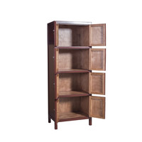Chinese Kast Scarlet Rouge B67xD45xH180cm - Orientique Collection