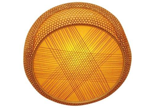 Fine Asianliving Lampe suspendue en bambou à la main Lucy