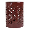 Fine Asianliving Keramik Hocker Gartenhocker Porzellan A-291