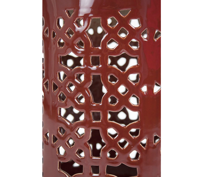 Keramik Hocker Gartenhocker Porzellan A-291