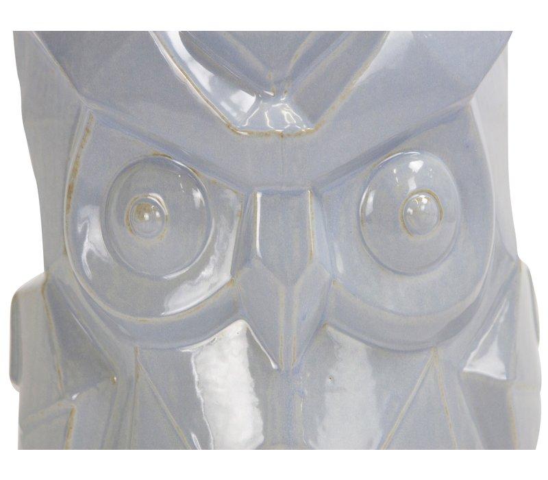 Chinese Kruk van Keramiek Porselein Bijzettafel Handgemaakt D33xH46cm
