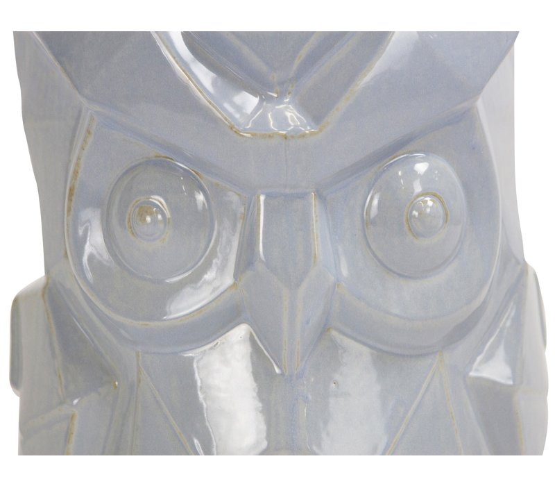 Sgabello in Ceramica Cinese Fatto a Mano D33xA46cm