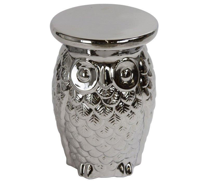 Keramik Hocker Gartenhocker Porzellan A-054
