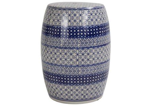 Fine Asianliving Sgabello in Ceramica Cinese B-071