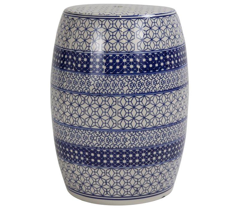 Tabouret en Porcelaine Céramique Chinois B-071