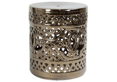 Fine Asianliving Ceramic Garden Stool Porcelain A-288