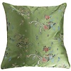 Fine Asianliving Chinese Cushion Green Dragon 40x40cm