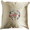 Fine Asianliving Fine Asianliving Chinese Cushion Yellow Flowers 40x40cm