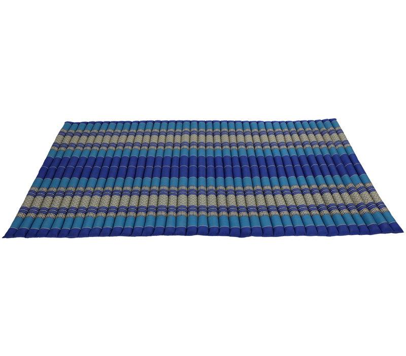 Thaise Mat Oprolbaar Matras 200x100x4.5cm Blauw