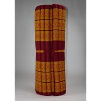 Thaimatte Rollbar Kapokfüllung 200x100x4.5cm orange