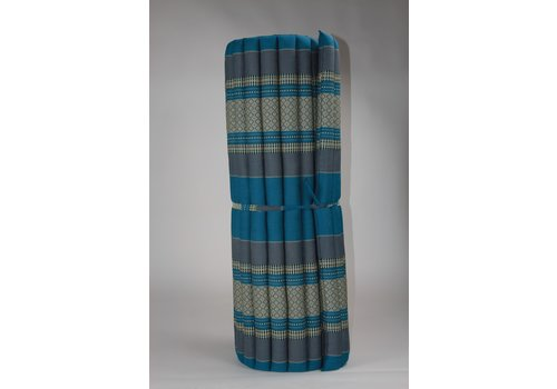 Fine Asianliving Thai Mat Rollable Matress 200x100x4.5cm Sky Blue