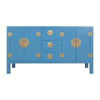 Credenza Cinese Blu Cielo - Orientique Collezione L160xP50xA90cm