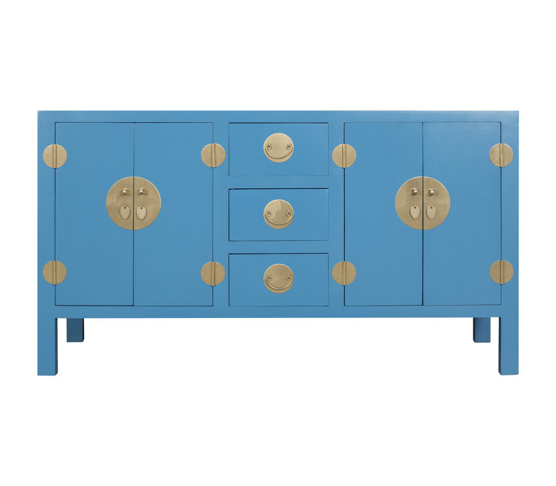 Chinese Sideboard Sapphire Blue - Orientique Collection W160xD50xH90cm