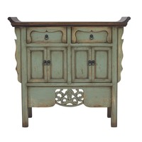 Chinese Sideboard Handcarved Vintage Mint W90xD35xH85cm