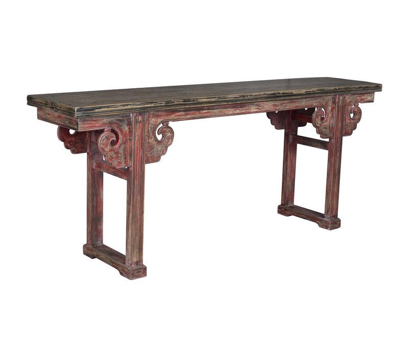 Antiker Chinesischer Altartisch Konsolentisch
