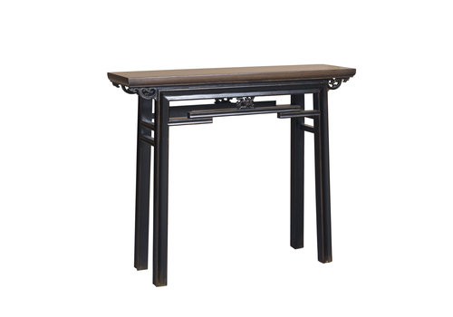 Fine Asianliving Chinese Sidetable Vintage Black W106xD29xH90cm