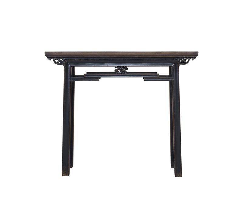 Chinese Sidetable Vintage Black W106xD29xH90cm