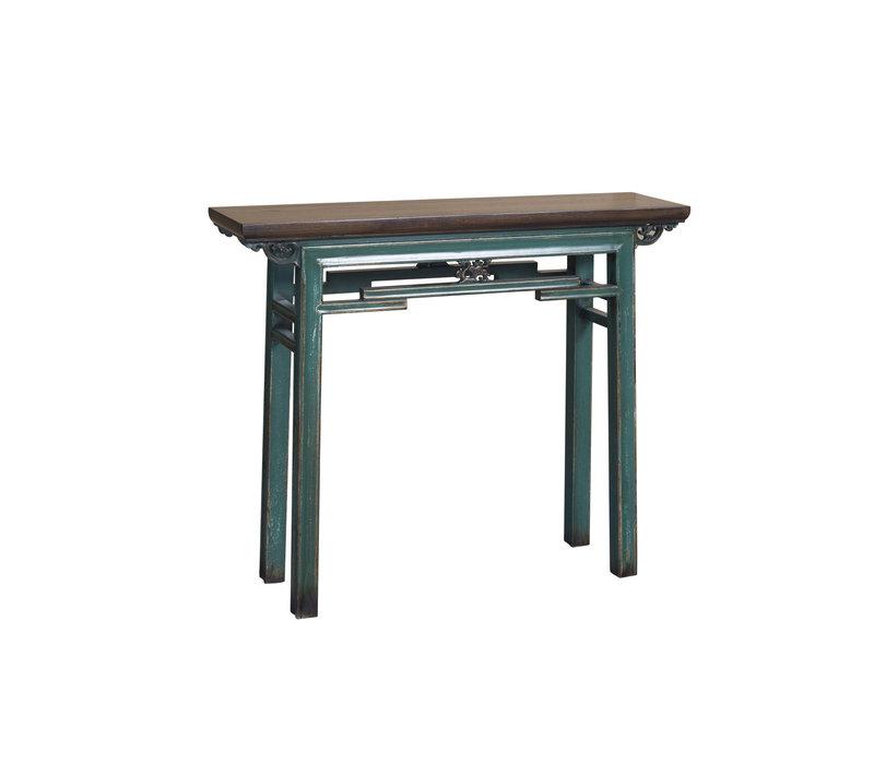 Chinese Sidetable Vintage Blue W106xD29xH90cm