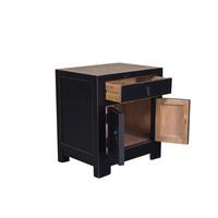 Table de Chevet Chinoise avec Bambou L55xP40xH60cm