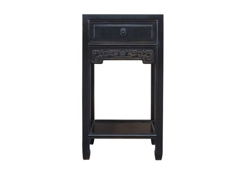 Fine Asianliving Chinese Plant Stand Handcrafted Vintage Black