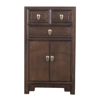 Chinese Bedside Table Brown W44xD42xH77cm