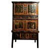 Fine Asianliving Antique Chinese Cabinet Hand-carved W105xD44xH177cm