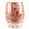 Fine Asianliving Ceramic Garden Stool Porcelain Handpainted Dragons Red  D33xH45cm