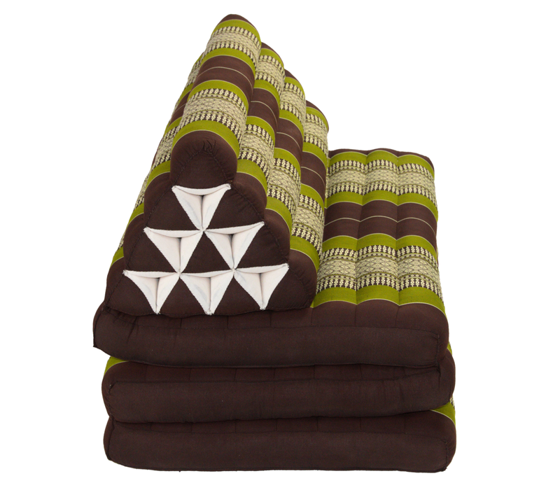 Thai Cushion Three-fold 80x190cm Triangle Cushion XXXL 8 Roll Seat