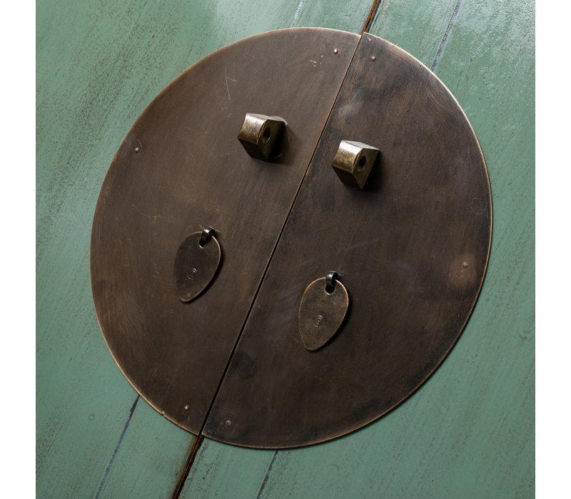 Armario de Boda Chino Antiguo Menta Brillante A105xP50xA184cm