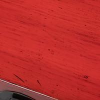 Caja Cofre de Almacenamiento Chino Antiguo Rojo Brillante A93xP57xA43cm