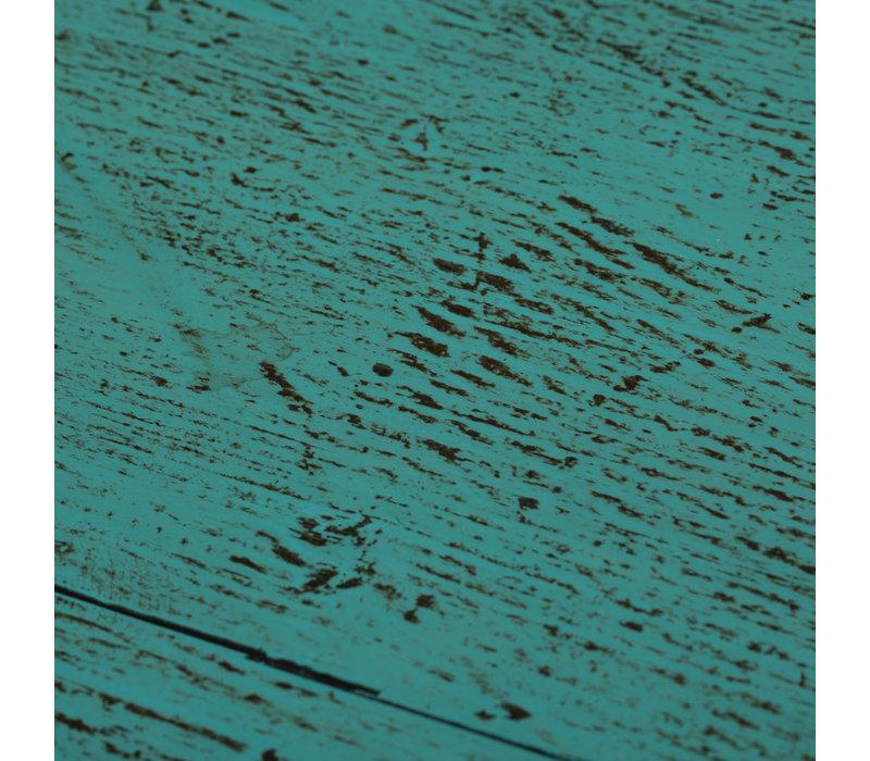Antieke Chinese Kast Glanzend Teal B86xD42xH114cm