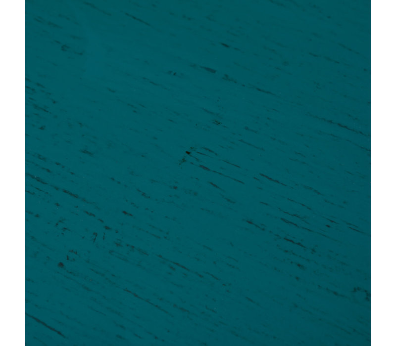 Antieke Chinese Kast Glanzend Blauwgroen B95xD40xH85cm