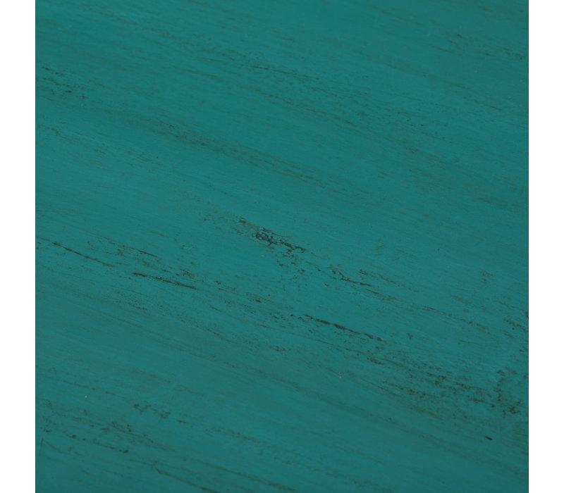 Antikes Chinesisches Sideboard Kommode Glänzend Aquamarin B120xT45xH85cm