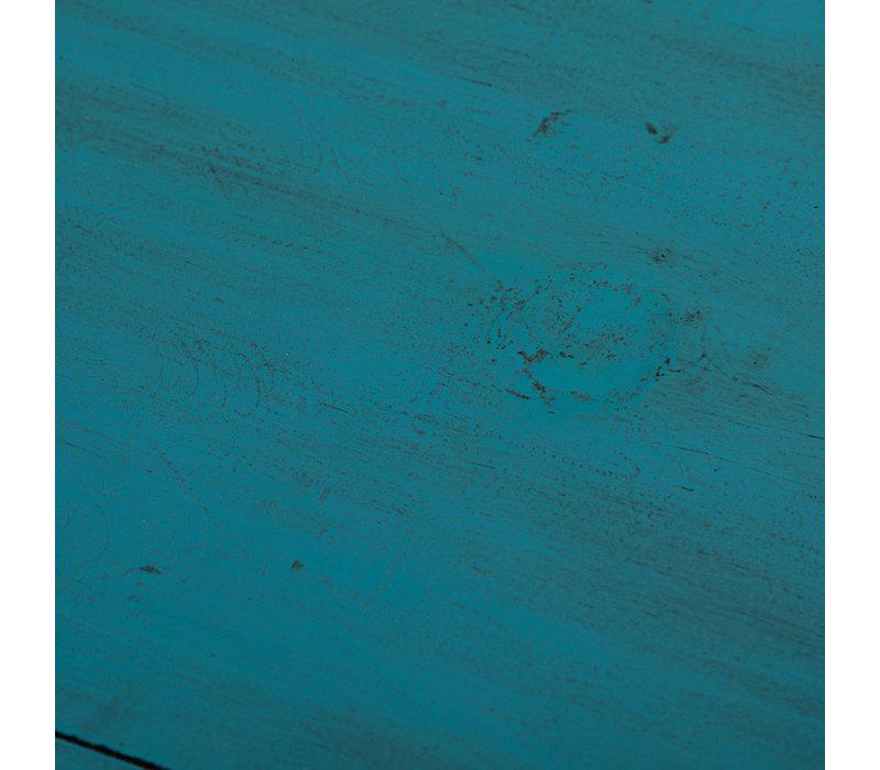 Antieke Chinese Dressoir Glanzend Blauwgroen B152xD40xH90cm