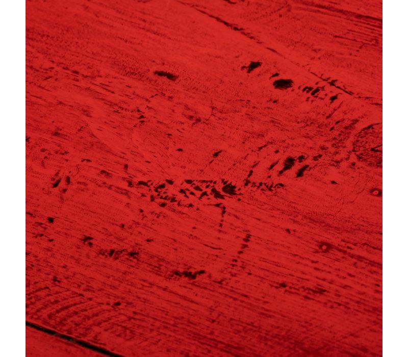 Antikes Chinesisches Sideboard Kommode Glänzend Rot B154xT40xH91cm