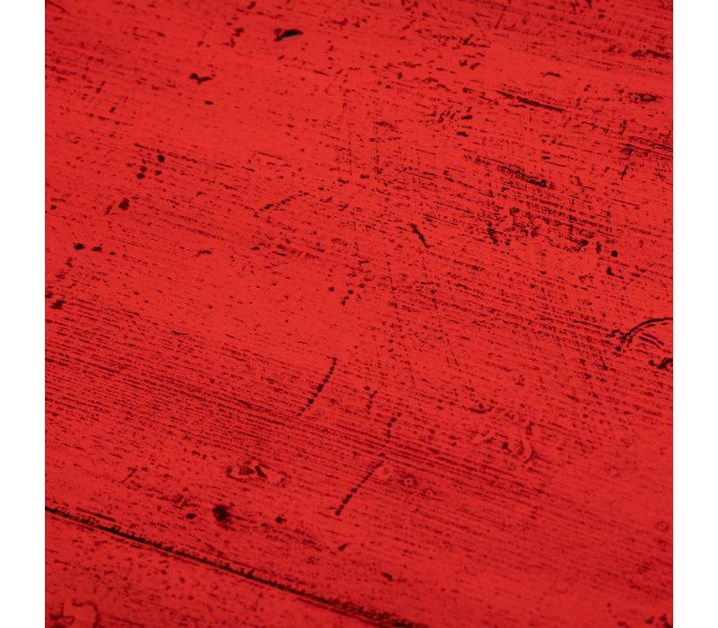 Armadio Cinese Antico Rosso L76xP39xA92cm