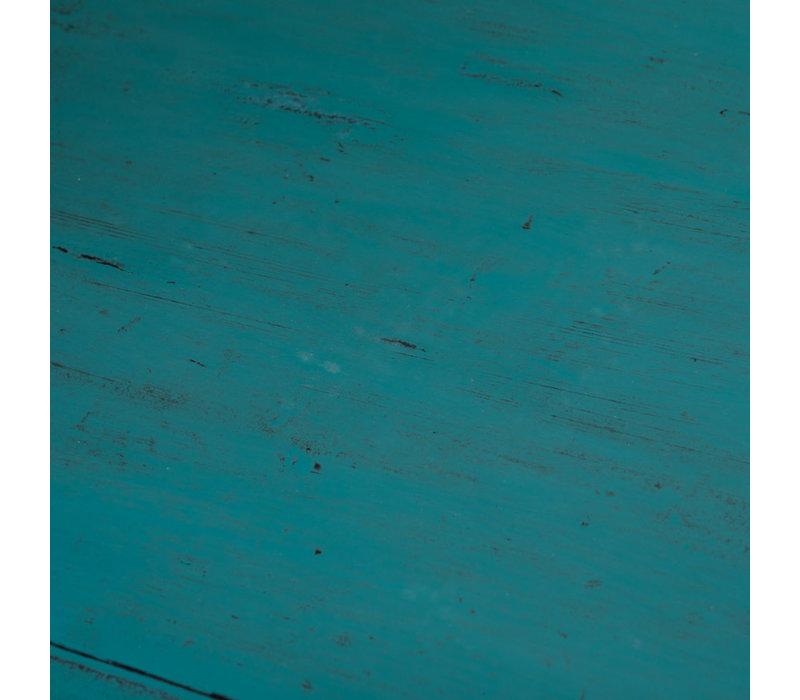 Armadio Cinese Antico Teal L77xP39xA92cm