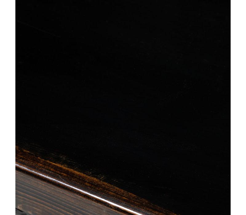 Antikes Chinesisches Sideboard Kommode Handbemalte Blumen B138xT37xH86cm