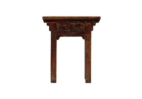 Fine Asianliving Antiker Chinesischer Pflanzentisch Blümentisch B73xT41xH84cm